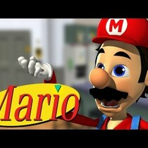 SEINFELD MEETS MARIO AND BECOMES A GAME CHARACTER!