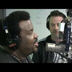 Craig Robinson and Woody Come Up With A Brand New Song LIVE