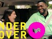 Awesome Undercover Lyft with Big Papi