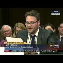 Watch Seth Rogen's Emotional Senate Testimony About Alzheimer's