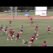 WATCH: Huge Rugby Hit Leaves Player On Ground While Play Continues