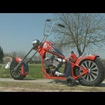 Biggest bike... ever.