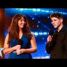 15-yr-old Jamie was too nervous to perform alone on Britain's Got Talent