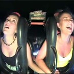 Girl Passes Out Twice On Slingshot Ride