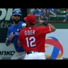 Texas Base Brawl...Rangers & Blue Jays Fight