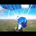 First Person Video Of Parachute Malfunction From 850 Ft...