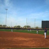 VIDEO: Indians take part in pop-up drills
