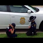 WATCH Sweet Kids Pray For Safe Return Of Police Officer Father!