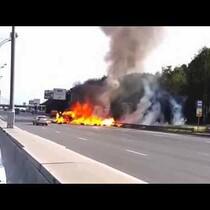 [Video] Insane Highway Wreck Caught on Dashcam