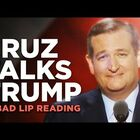 Bad Lip Reading: Ted Cruz Talks Trump
