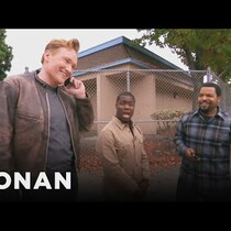 Hilarious: Ice Cube, Kevin Hart and Conan ridin around LA