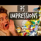 Guy Does 75 Spot-On Impressions in 5 Minutes