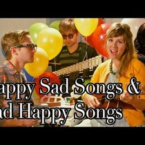 WATCH: Group takes happy songs and makes them sad, sad songs happy