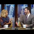 Jimmy Kimmel grills Kelly Ripa