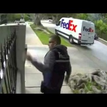 WOW! A Montage of FedEx Workers Who Couldn't Care Less!
