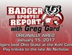 WATCH: UW MBB: Badger Sports Report with Greg Gard