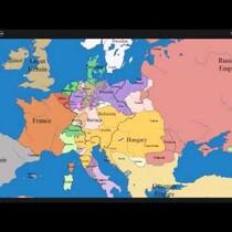 1,000 Years of European Border Change