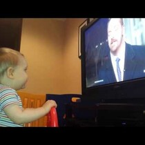 This 10-Month Old Cries Everytime He Sees Brian Williams