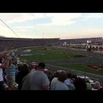 DOC RENO VIDEO : FOX TV Camera Cable Breaks at NASCAR Race