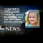 Video: Hombre ve una alerta Amber en su celular y se da cuenta que el auto del frente iba el secuestrador