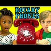 Kids React to Rotary Phones-Coffee Break Video
