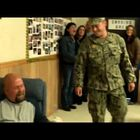 WATCH: Dad Wipes Away Tears When He Sees His Soldier Son On TV, But There's One More Surprise!