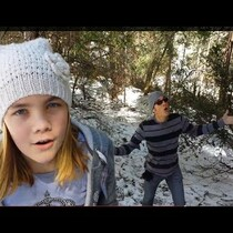HAHA!!  Dad Video Bombs Daughter Singing