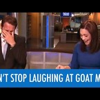News Anchors Completely Lose Their Minds Reporting About This Nobel Prize Winning 'Goat Man'