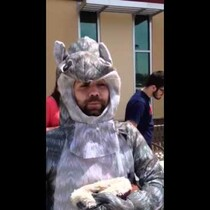 Big Brother Auditions: Squirrel Man Has Nuts Grabbed