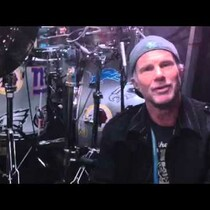 Bid on Chad Smith's halftime show drum kit!