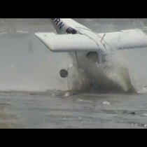Plane crashes twice in one day!