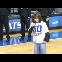 16 Year Old Blind Autistic Girl Sings National Anthem