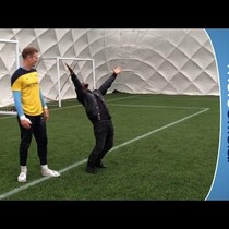 WATCH: Kevin Hart vs. Manchester City FC goalie Joe Hart