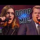 James Corden and Anne Hathaway Drop The Mic