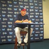 VIDEO: Terry Francona following 1-0 win over A's