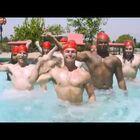 lol, men's synchronized swimming...Amazing!