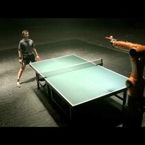 VIDEO: Man Vs Machine - The Ping Pong Chapter