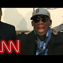 Dennis Rodman yells Chris Cuomo from CNN on the Kenneth Bae question