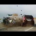 VIDEO.-Choques de Autos captados en Vivo