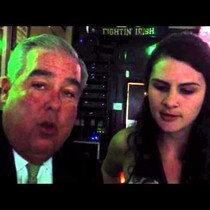 Sabrina raps with John Morgan