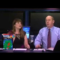 Peoria, IL meteorologist in scary moment as tornadoes roll through
