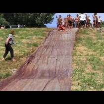 Chocolate Slip & Slide!