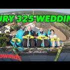 Charlotte couple got married on roller coaster at Carowinds!