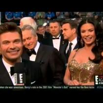 WATCH: Did Ryan Seacrest deny Catherine Zeta-Jones a mani-cam moment?