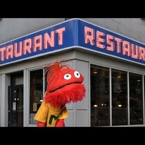 Mario and Fafa The Groundhog on Restaurant Ettiquette!