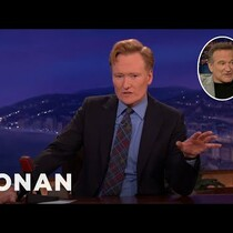 WATCH: Robin Williams Bought Conan a Bicycle?