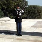 The moment a guard yells at tourist at Tomb of the Unknown Solider