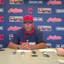 VIDEO: Terry Francona finalizing roster during daily media gathering