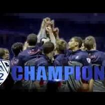 Arizona Basketball Celebrates in Zona Zoo