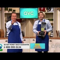 Arnold and Jimmy Fallon on QVC